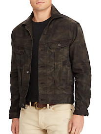 Polo Ralph Lauren® Stretch Denim Camo Trucker Jacket