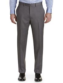 Michael Kors® Grid Flat-Front Suit Pants