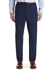 Ralph by Ralph Lauren Comfort Flex Mini Check Flat-Front Suit Pants