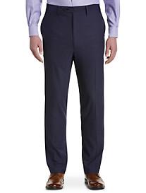 Tallia Orange Neat Flat-Front Suit Pants