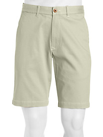 Tommy Bahama® Bedford and Sons Flat-Front Stretch Shorts
