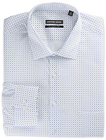 Geoffrey Beene Repeating Diamond Dress Shirt