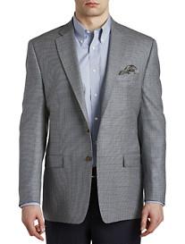 Ralph by Ralph Lauren Comfort Flex Houndstooth Silk/Wool Sport Coat