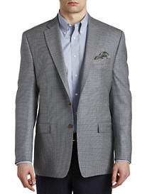 Ralph by Ralph Lauren Comfort Flex Houndstooth Silk/Wool Sport Coat – Executive Cut