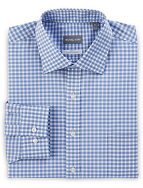 Michael Kors® Non-Iron Dobby Grid Stretch Dress Shirt