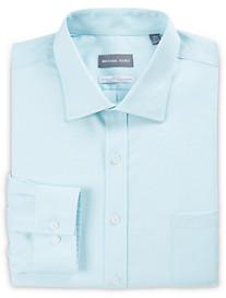 Michael Kors Non-Iron Mini Dobby Stretch Dress Shirt