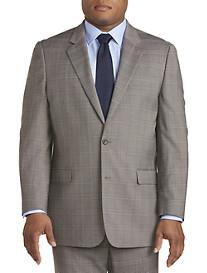 Geoffrey Beene Plaid Suit Jacket