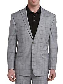 Geoffrey Beene® Textured Windowpane Suit Jacket