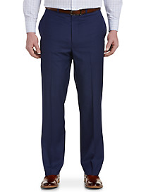 Geoffrey Beene® Mini Check Flat-Front Suit Pants