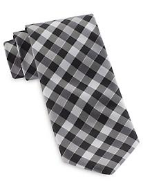 Geoffery Beene® Gingham Plaid Tie