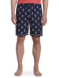 Psycho Bunny Logo-Print Woven Jam Shorts