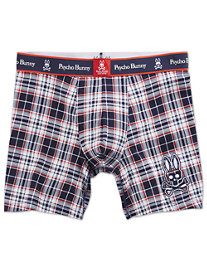 Psycho Bunny Plaid Boxer Briefs
