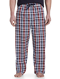 Harbor Bay® Plaid Woven Lounge Pants