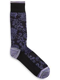 Robert Graham® Kosmo Paisley Socks