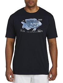 Nautica Fish Graphic Tee