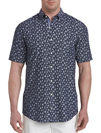 Nautica® Sailboat Print Sport Shirt
