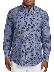 Nautica® Palm Print Sport Shirt