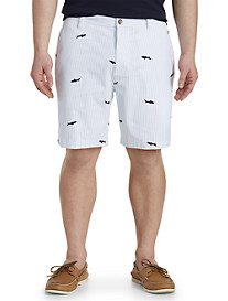 Nautica® Stripe Shark-Print Shorts