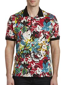 Robert Graham® Barrio Floral-Print Polo Shirt