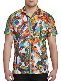 Robert Graham Limited Edition Think Vivid Camp Shirt