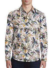 Robert Graham® Botanics Print Sport Shirt