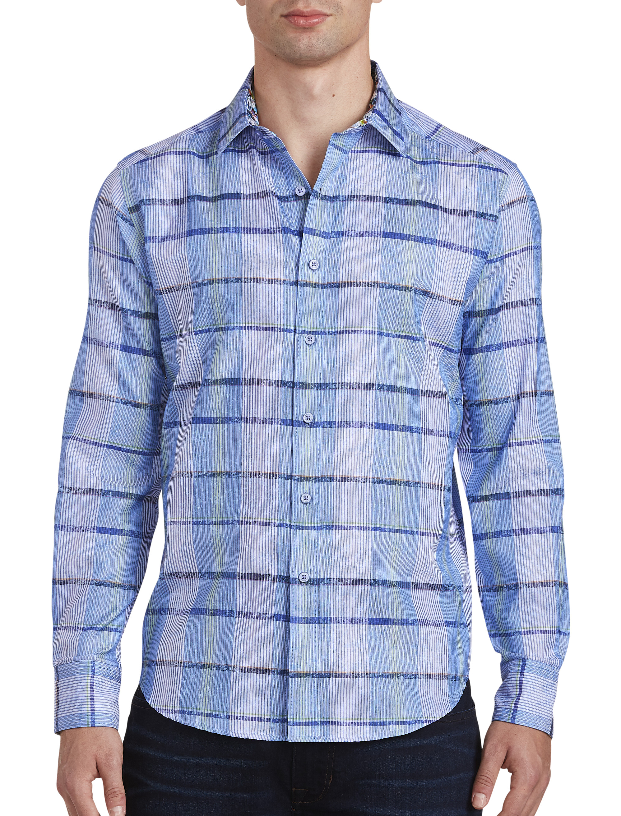 Robert Graham Ferro Plaid Sport Shirt | Tuggl
