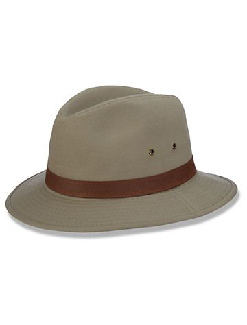 DPC by Dorfman Pacific Safari Hat - Available in khaki