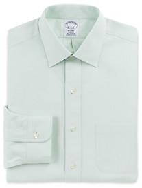 Brooks Brothers® Non-Iron Tonal Framed Stripe Dress Shirt
