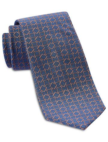 Michael Kors® Outlined Medallion Neat Silk Tie