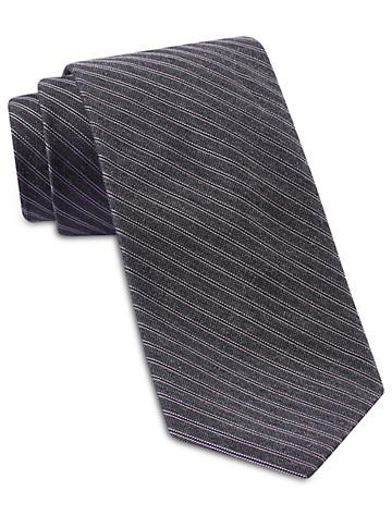 Michael Kors® Fine Heather Stripe Silk Tie