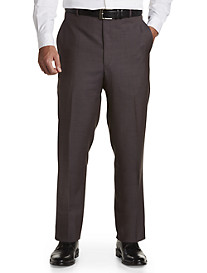 Ballin® Comfort-EZE Sharkskin Flat-Front Dress Pants