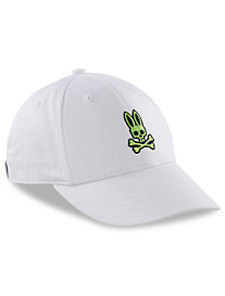 Psycho Bunny® Neon Bunny Curved-Brim Cap