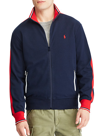Polo Ralph Lauren® Cotton Knit Track Jacket