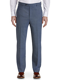 Ballin® Freedom 360° Wool Stretch Crespino Houndstooth Flat-Front Dress Pants
