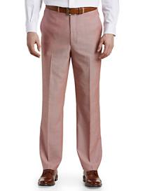 Ballin® 6 East Comfort-Eze Summer Birdseye Flat-Front Dress Pants