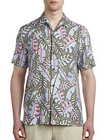 Tommy Bahama® Mateo Fronds IslandZone® Camp Shirt