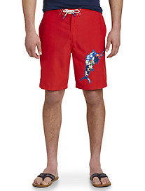 Tommy Bahama Baja Hula Holiday Marlin Board Shorts