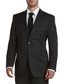Jack Victor® Reflex Tonal Plaid Suit Jacket