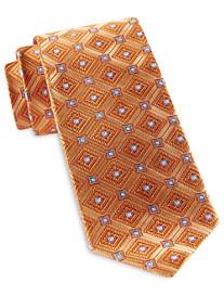 Robert Talbott Repeating Diamond Medallion Silk Tie