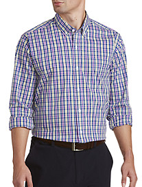 Cutter & Buck Anthony Plaid Stretch Sport Shirt