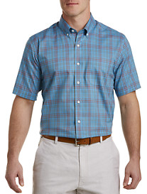 Cutter & Buck® Easy-Care Issac Plaid Sport Shirt