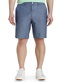 johnnie-O Oliver Chambray Jacquard Shorts