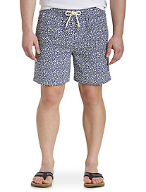 Brooks Brothers Montauk Floral Swim Trunks