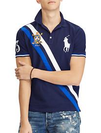 Polo Ralph Lauren® Classic Fit Colorblock Big Pony Mesh Polo Shirt