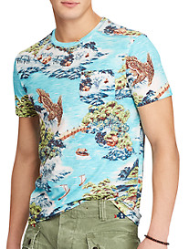 Polo Ralph Lauren Classic Fit Tropical Landscape T-Shirt