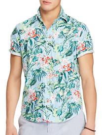 Polo Ralph Lauren Classic Fit Floral Print Oxford Sport Shirt