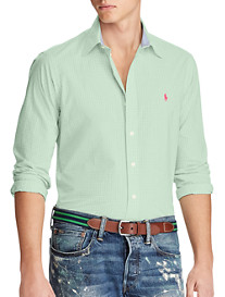 Polo Ralph Lauren Classic Fit Gingham Poplin Sport Shirt