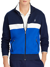 Polo Ralph Lauren® Cotton Interlock Knit Track Jacket