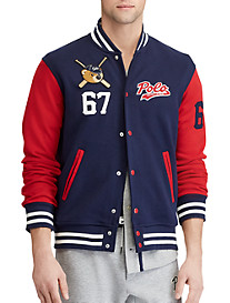 Polo Ralph Lauren® Double-Knit Tech Baseball Jacket