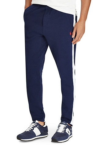 Polo Ralph Lauren® Cotton Interlock Track Pants ( Active Bottoms )